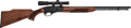 Long Guns:Semiautomatic, Remington Model 552 Speedmaster Semi-Automatic Rifle With Weaver1x-3x20 Scope....
