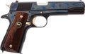 Handguns:Semiautomatic Pistol, Cased Auto Ordnance Corporation WWII Commemorative M1911A1 Semi-Automatic Pistol....