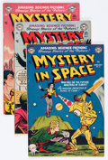 Golden Age (1938-1955):Science Fiction, Mystery in Space #6-9 Group (DC, 1952).... (Total: 4 Comic Books)