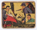 Memorabilia:Trading Cards, G-Men and Heroes of the Law Trading Cards Group (Gum, Inc.,1936-37).... (Total: 54 Items)
