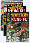 Magazines:Miscellaneous, The Deadly Hands of Kung Fu Group (Marvel, 1974-75) Condition:Average FN/VF.... (Total: 19 Comic Books)