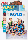 Magazines:Mad, Mad Group (EC, 1969-76) Condition: Average FN.... (Total: 57 ComicBooks)