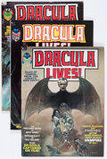 Magazines:Horror, Dracula Lives! Group (Marvel, 1973-75) Condition: Average FN.... (Total: 19 Comic Books)