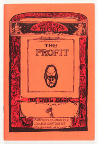 The Profit #1 Red Border Cover Edition (Go Broke Press, 1966) Condition: FN