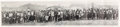 Autographs:Celebrities, Panoramic Postcard Photo Signed by Buffalo Bill....
