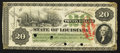 Obsoletes By State:Louisiana, New Orleans, LA- State of Louisiana $20 June 1, 1866 Cr. 27. ...
