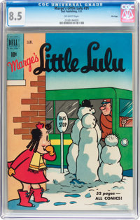 Marge's Little Lulu #31 File Copy (Dell, 1951) CGC VF+ 8.5 Off-white pages