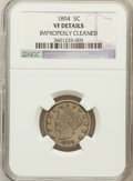 Liberty Nickels: , 1894 5C --Improperly Cleaned--NGC Details. VF. NGC Census: (3/282).PCGS Population (4/456). Mintage: 5,413,132. Numismedia ...