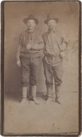 Photography:CDVs, CDV: Leadville, Colorado Gold Miners....