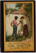 Books:Literature Pre-1900, Mark Twain. The Adventures of Tom Sawyer. Harper &Brothers, 1917. Illustrated edition illustrated by Worth Breh...