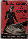 Books:Mystery & Detective Fiction, Erle Stanley Gardner. The D.A. Cooks a Goose. William Morrowand Company, 1942. First edition. Modest shelf wear...