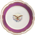 Political:Presidential Relics, Lincoln White House China Dessert Plate....