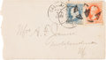 Western Expansion:Cowboy, Outlaw Frank James Autograph Envelope Addressed to His Wife....