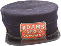 Transportation:Railroad, Adams Express Company Employee Hat....