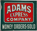 Advertising:Signs, Adams Express Company Flange Sign....