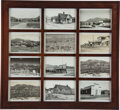 Western Expansion:Goldrush, Bodie, California: Real Photo Postcards.... (Total: 2 Items)