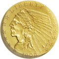 Proof Indian Quarter Eagles: , 1908 $2 1/2 PR63 NGC. Proofs of this year are always a popular itemwith collectors. Not only is it the first year of issue...