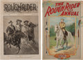 Western Expansion:Cowboy, Buffalo Bill Wild West: Rough Rider Magazines. ... (Total: 2 Items)