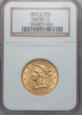 Liberty Eagles: , 1903-O $10 MS61 NGC. NGC Census: (360/370). PCGS Population(177/441). Mintage: 112,771. Numismedia Wsl. Price for problem ...