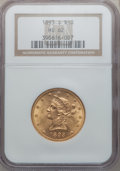 Liberty Eagles: , 1893-S $10 MS62 NGC. NGC Census: (138/18). PCGS Population(150/51). Mintage: 141,350. Numismedia Wsl. Price for problem fr...