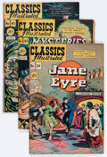 Golden Age (1938-1955):Classics Illustrated, Classics Illustrated #39-42 Group (Gilberton, 1947) Condition:Average VG-.... (Total: 4 Comic Books)