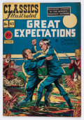 Golden Age (1938-1955):Classics Illustrated, Classics Illustrated #43 Great Expectations (Gilberton, 1947) Condition: VG+....