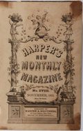 Books:Americana & American History, [American Magazines]. Harper's New Monthly Magazine Bound Issues,No. XVI, September, 1851 through No. XVIII, November, 1851. ...
