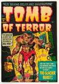 Golden Age (1938-1955):Horror, Tomb of Terror #4 (Harvey, 1952) Condition: VF....