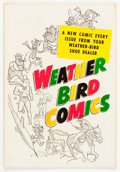 Silver Age (1956-1969):Miscellaneous, Weather Bird Comics #nn (Hot Stuff #1 issue) (Weather Bird Shoes, 1957) Condition: VF/NM....