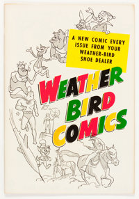 Weather Bird Comics #nn (Hot Stuff #1 issue) (Weather Bird Shoes, 1957) Condition: VF/NM