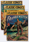 Golden Age (1938-1955):Classics Illustrated, Classic Comics Group (Gilberton, 1945-47) Condition: AverageGD-.... (Total: 6 Comic Books)