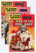 Golden Age (1938-1955):Classics Illustrated, Classics Illustrated Group (Gilberton, 1949-50) Condition: Average FN.... (Total: 7 Comic Books)