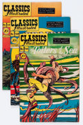 Golden Age (1938-1955):Classics Illustrated, Classics Illustrated Group (Gilberton, 1949-50) Condition: Average VG/FN.... (Total: 10 Comic Books)