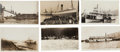 Western Expansion:Goldrush, Real Photo Postcards: Six Alaska Steamers & Ferries.... (Total:6 Items)