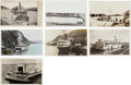 Western Expansion:Goldrush, Real Photo Postcards: Seven Alaska Steamers & Ferries....(Total: 7 Items)