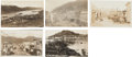 Western Expansion:Goldrush, Real Photo Postcards: Six Alaska Town Scenes.... (Total: 6 Items)