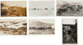 Western Expansion:Goldrush, Real Photo Postcards: Five Alaska Town Scenes.... (Total: 6 Items)