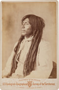 Western Expansion:Goldrush, Albumen Cabinet Card: Jose Pocati Yuma Indian.. ...