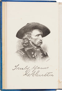 General George Armstrong Custer. My Life on the Plains or, Personal Experiences With Indians
