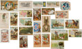 Advertising:Paper Items, Collection of 19th Century Trade Cards.... (Total: 25 Items)