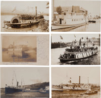 Real Photo Postcards: Six Oregon Steamer Scenes