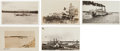 Western Expansion:Goldrush, Real Photo Postcards: Five Alaska Steamers and Ferries ... (Total:5 Items)
