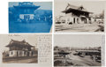 Transportation:Railroad, Real Photo Postcards: Four Sonora California Train Depot Scenes,...(Total: 4 Items)