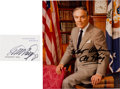 Autographs:Statesmen, Alexander Haig: Autographed Items.... (Total: 2 Items)