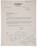 Autographs:U.S. Presidents, Richard Nixon: Office of the Vice President Letters. ... (Total: 10 Items)