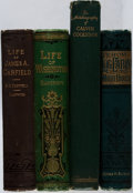 Books:Biography & Memoir, [Presidential Biographies]. Garfield, Washington, and Coolidge.Group of Four Books. Various, 1881-1929. Good or better cond...