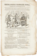 Political:Small Paper (pre-1896), Henry Clay: Anti-Jackson 1832 Imprint with Cartoon....