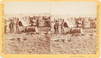 Albumen Stereoview: General Crook's Expedition into the Black Hills