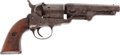 Handguns:Single Action Revolver, 1849 Colt Brevete Belgian Copy of the 1849 Pocket Percussion Revolver With a Turkish Retailer's Mark. ...