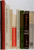Books:Books about Books, [Books About Books]. Lot of Nine Titles Related to Books and Printing. [Various publishers, various dates]. Various editions... (Total: 9 Items)
